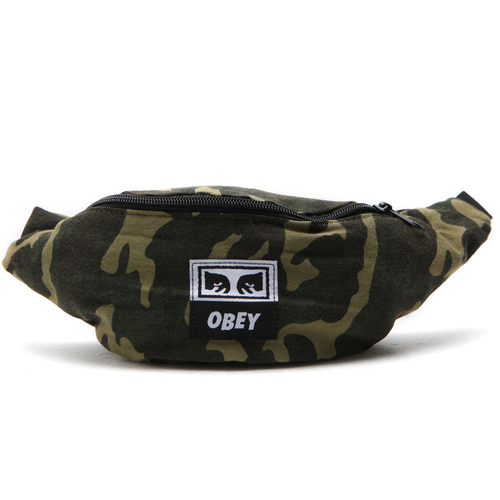 [오베이] OBEY WASTED HIP BAG (FIELD CAMO) [100010098-FCA]
