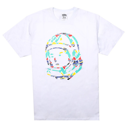[DP6097] [빌리네어 보이즈 클럽] BB TRIBAL HELMET SS TEE (WHITE) [881-4200-WHT]