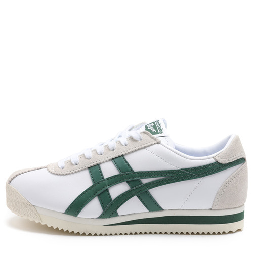 오니츠카 타이거 코르세어 (TIGER CORSAIR - WHITE/HUNTER GREEN) [D7J4L-101]